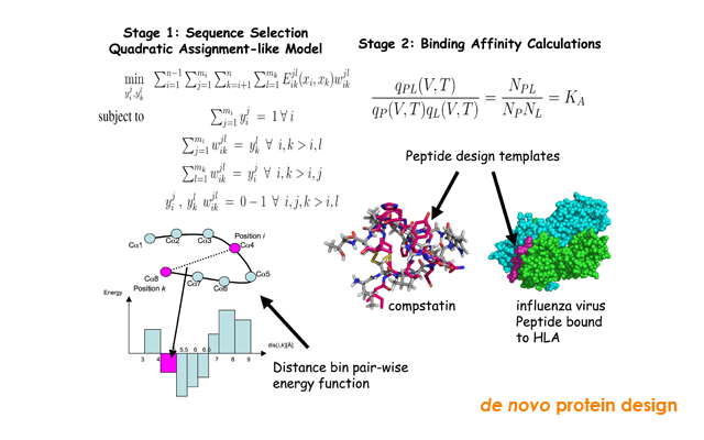 in silico methods for de novo protein design